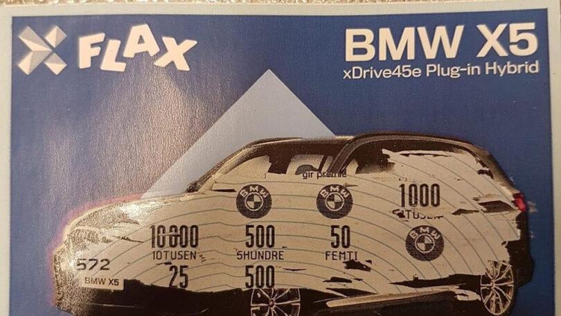 Skrapelodd kunde vant BMW